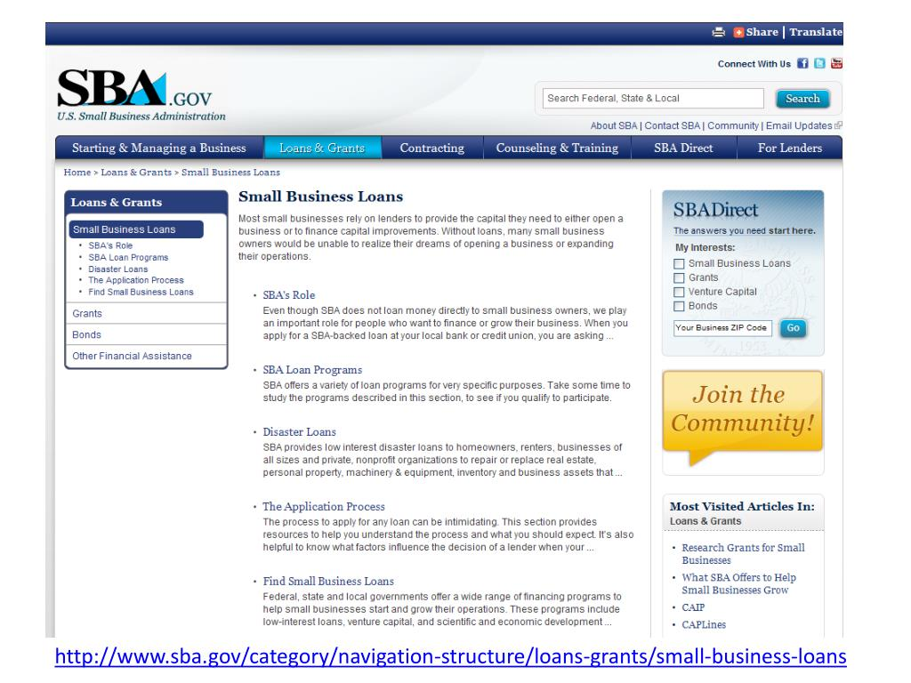 http://www.sba.gov/category/navigation-structure/loans-grants/small-business-loans