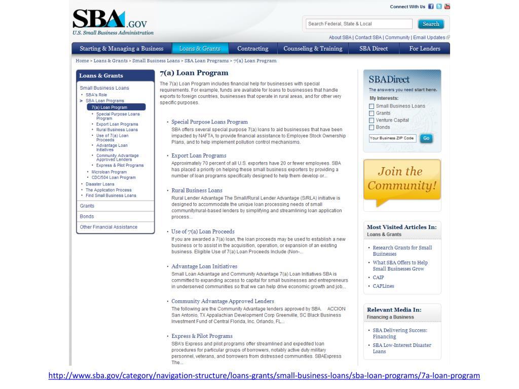 http://www.sba.gov/category/navigation-structure/loans-grants/small-business-loans/sba-loan-programs/7a-loan-program