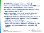 is is not analysis kepner tragoe