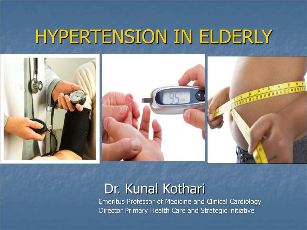 hypertension in elderly l.