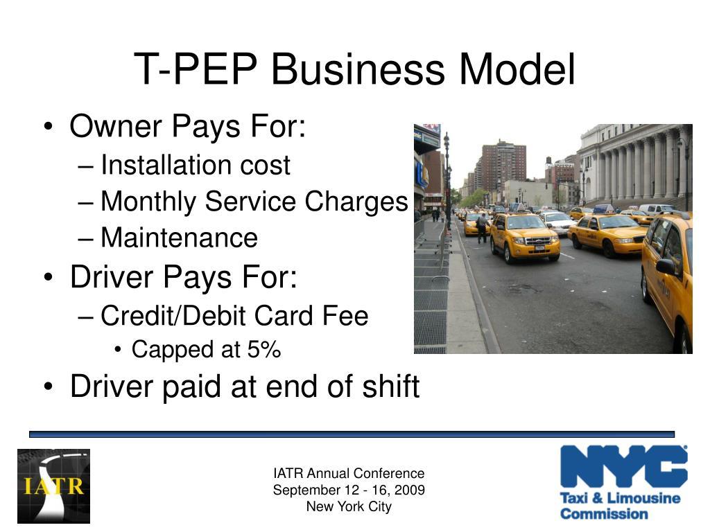 T-PEP Business Model