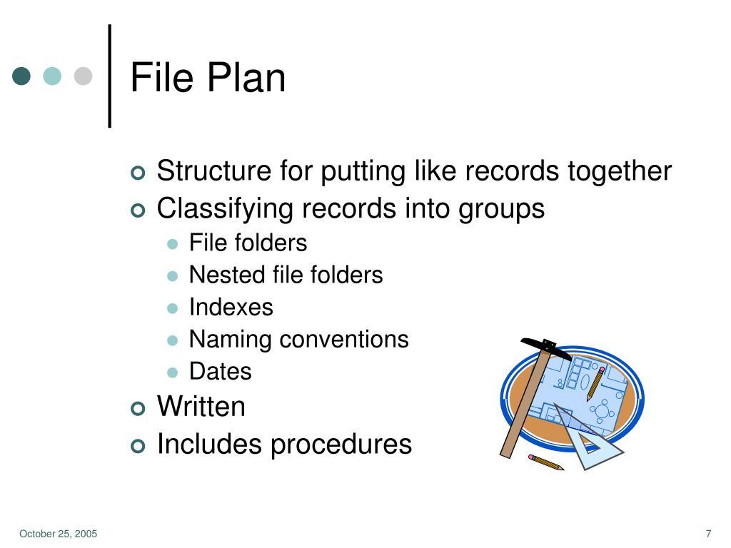 File Plan