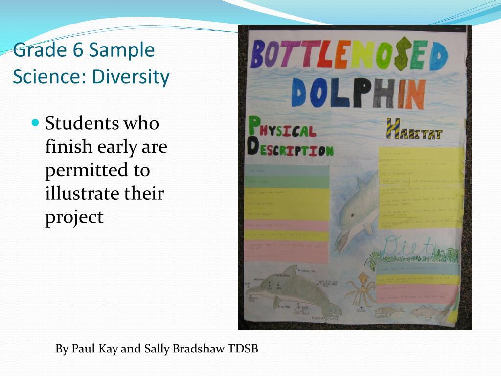 Grade 6 Sample