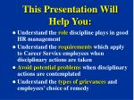 this presentation will help you