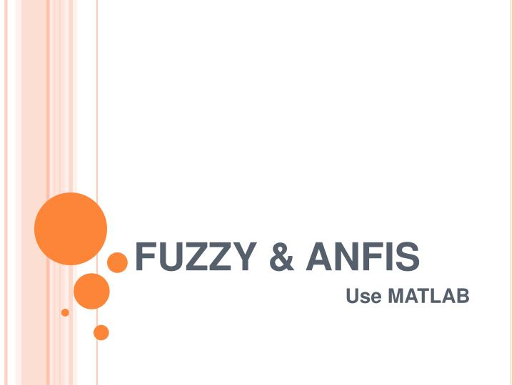 fuzzy anfis n.