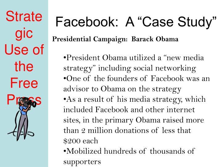"""Facebook:  A """"Case Study"""""""