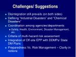 challenges suggestions