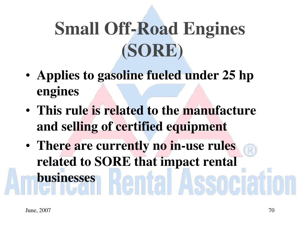 Small Off-Road Engines