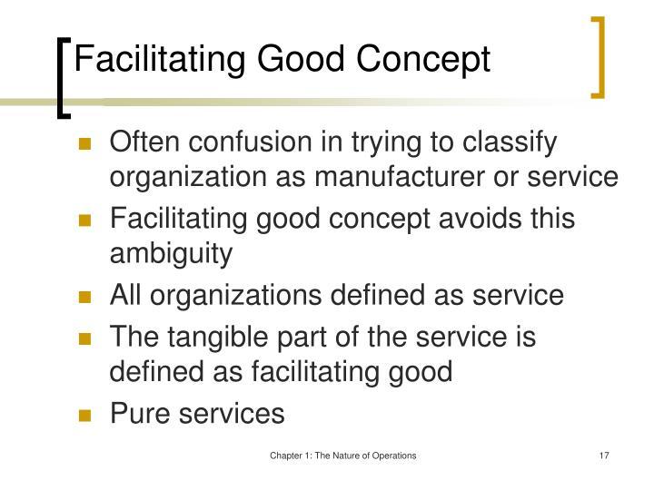 Facilitating Good Concept