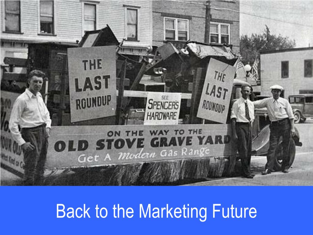 Back to the Marketing Future