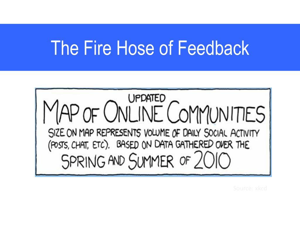 The Fire Hose of Feedback