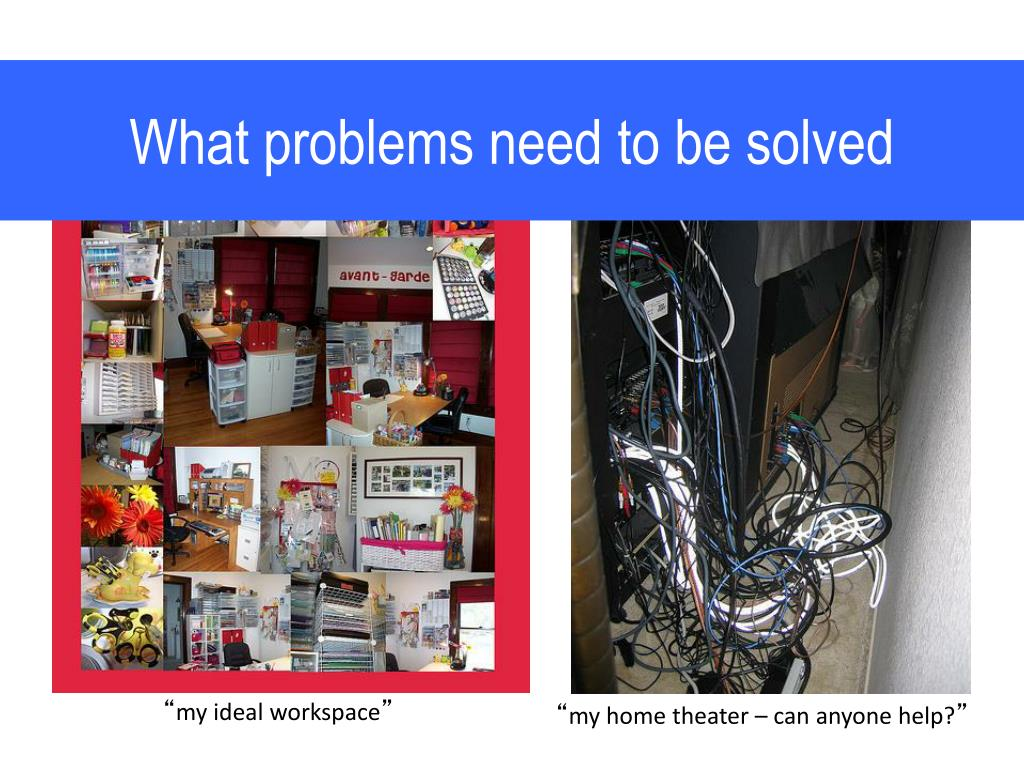 What problems need to be solved