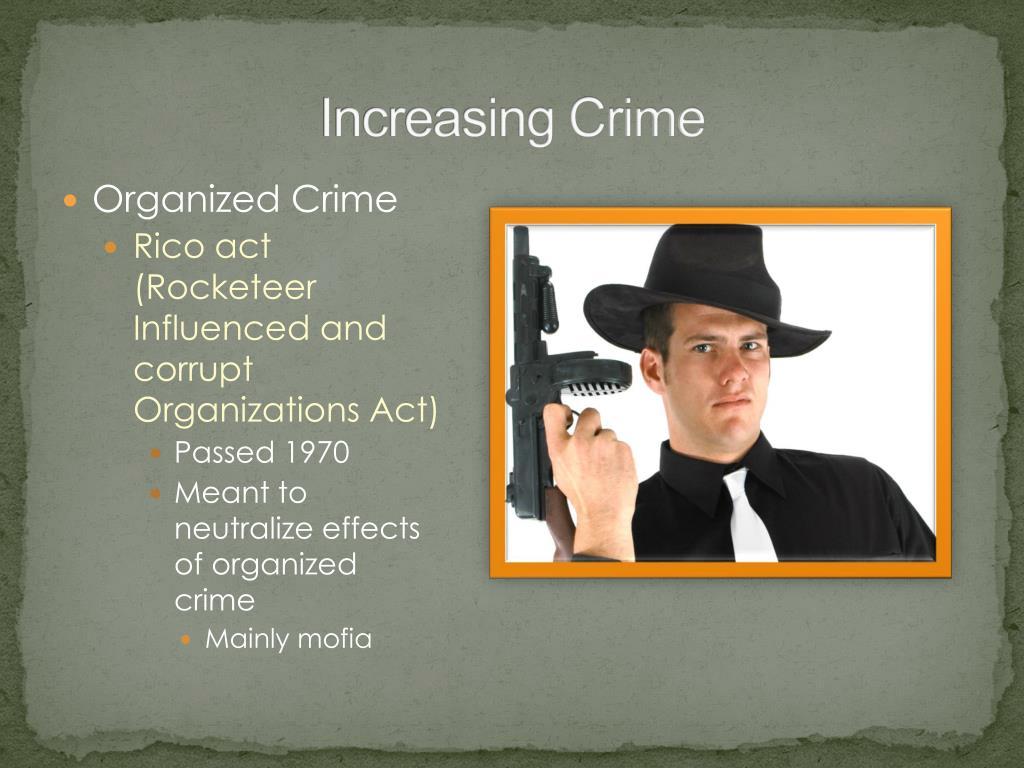 Increasing Crime