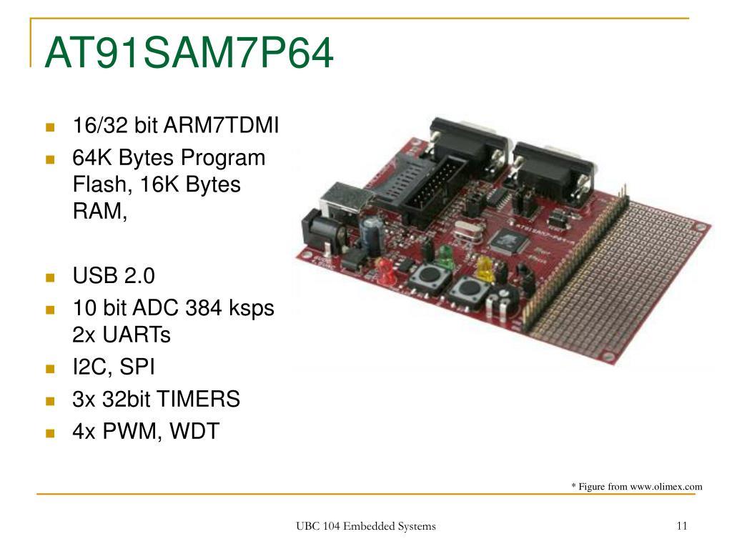 AT91SAM7P64