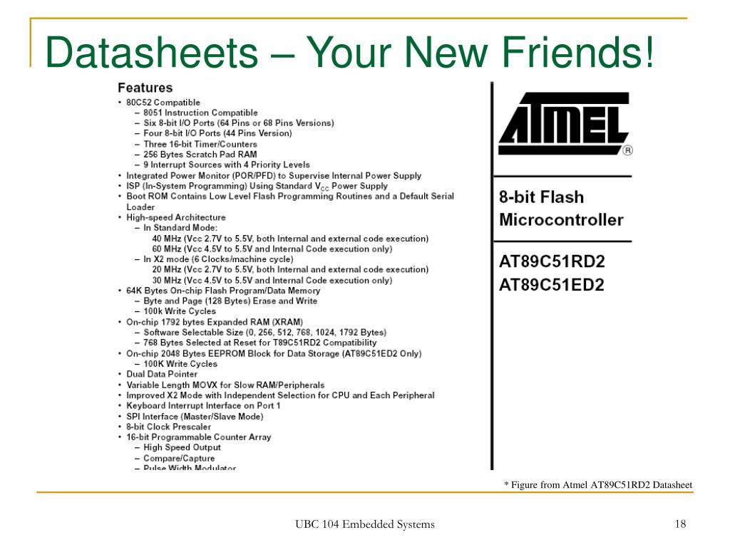 Datasheets – Your New Friends!