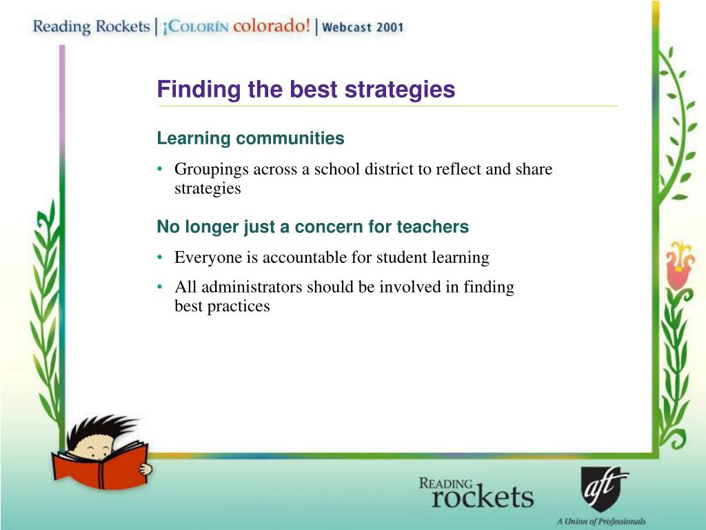 Finding the best strategies