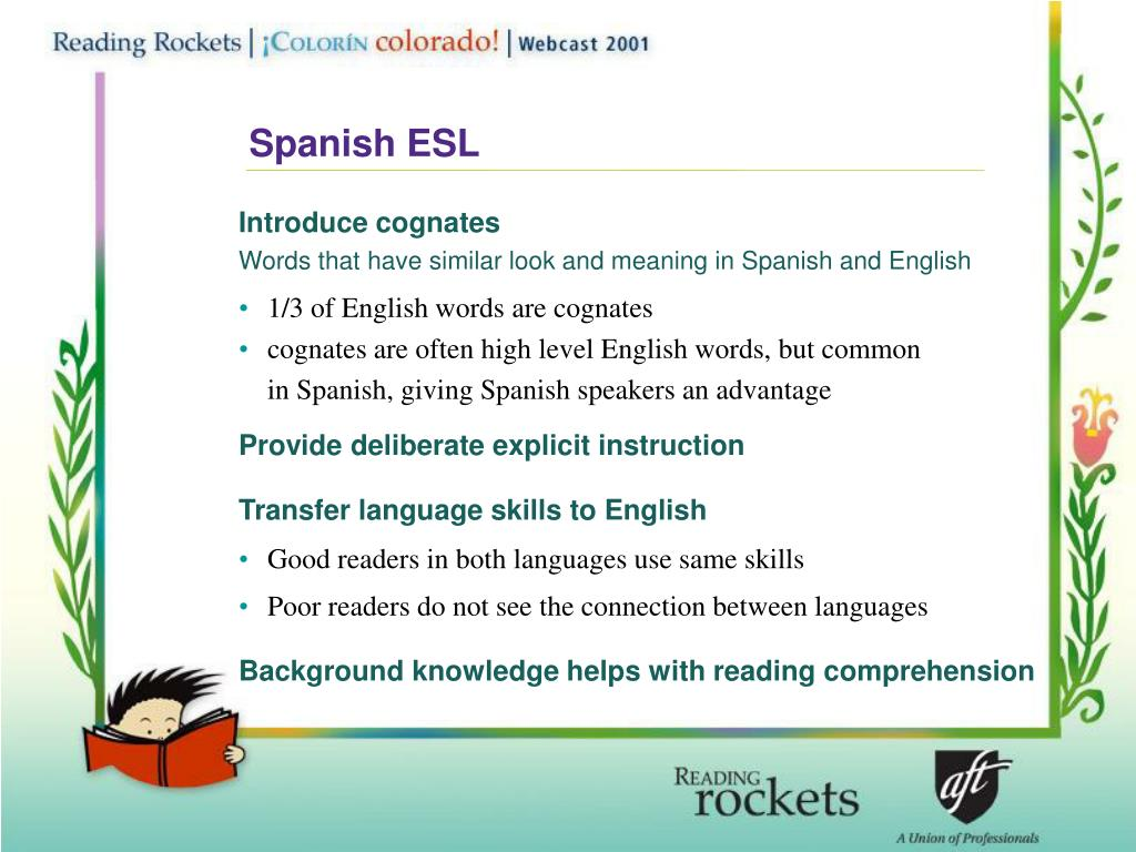 Spanish ESL