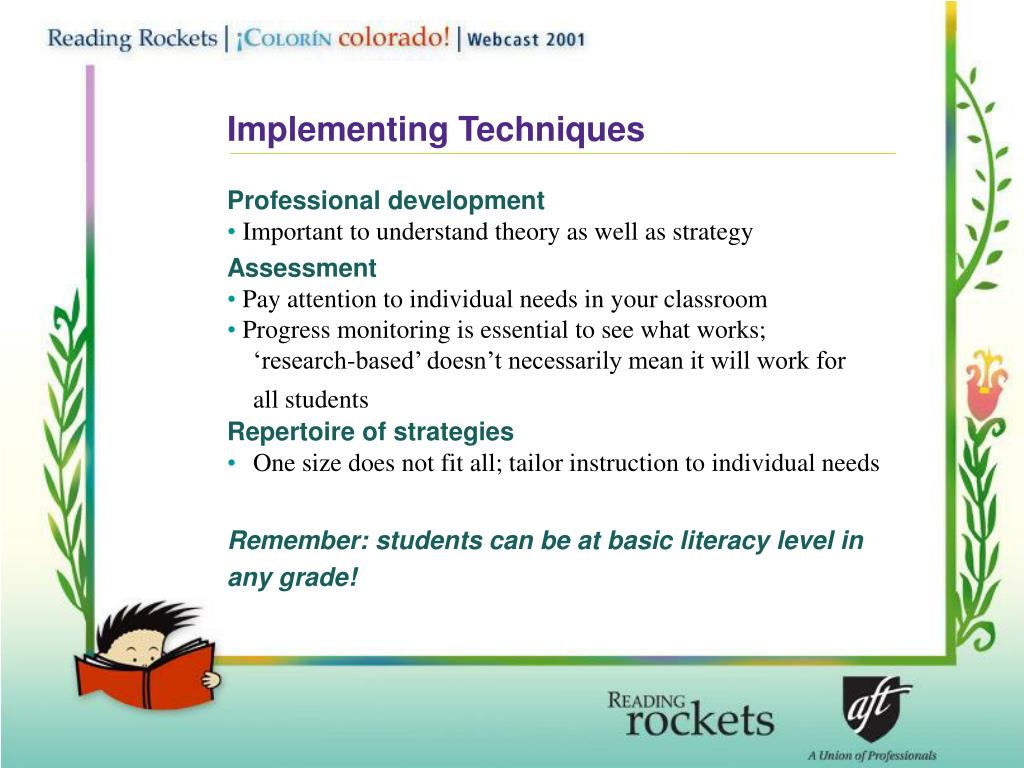 Implementing Techniques