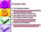 a human year