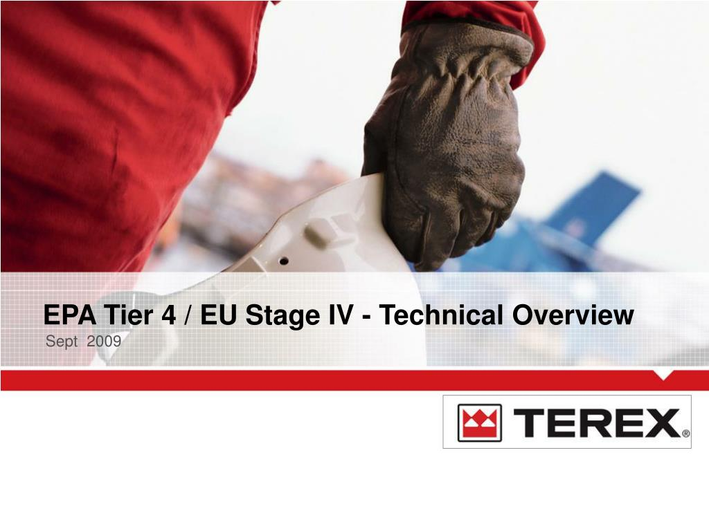epa tier 4 eu stage iv technical overview l.