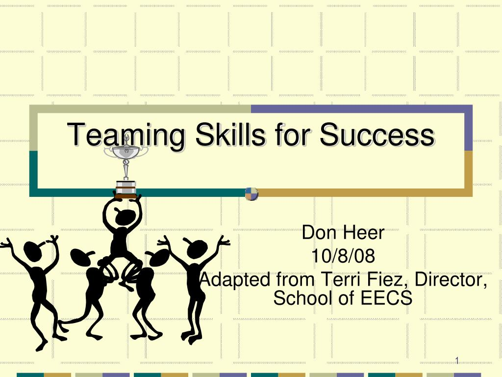 teaming skills for success l.