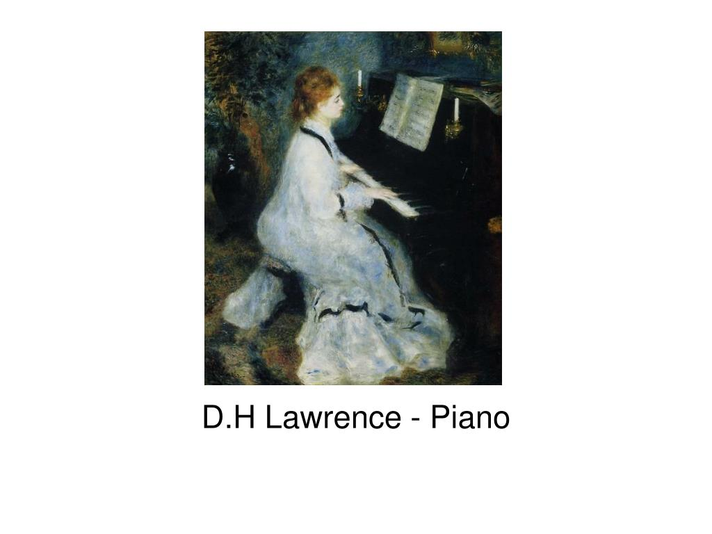 d h lawrence piano l.