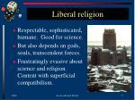 liberal religion