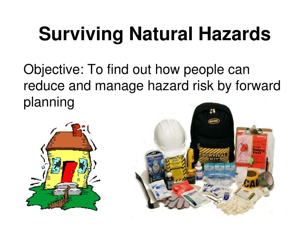 surviving natural hazards