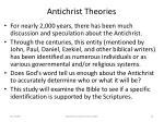 antichrist theories