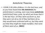 antichrist theories53