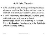 antichrist theories59