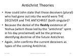 antichrist theories60