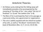 antichrist theories69