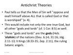 antichrist theories70