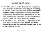 antichrist theories73