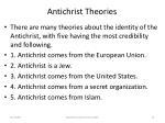 antichrist theories74