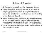 antichrist theories75