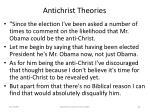 antichrist theories81
