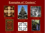 examples of centers1
