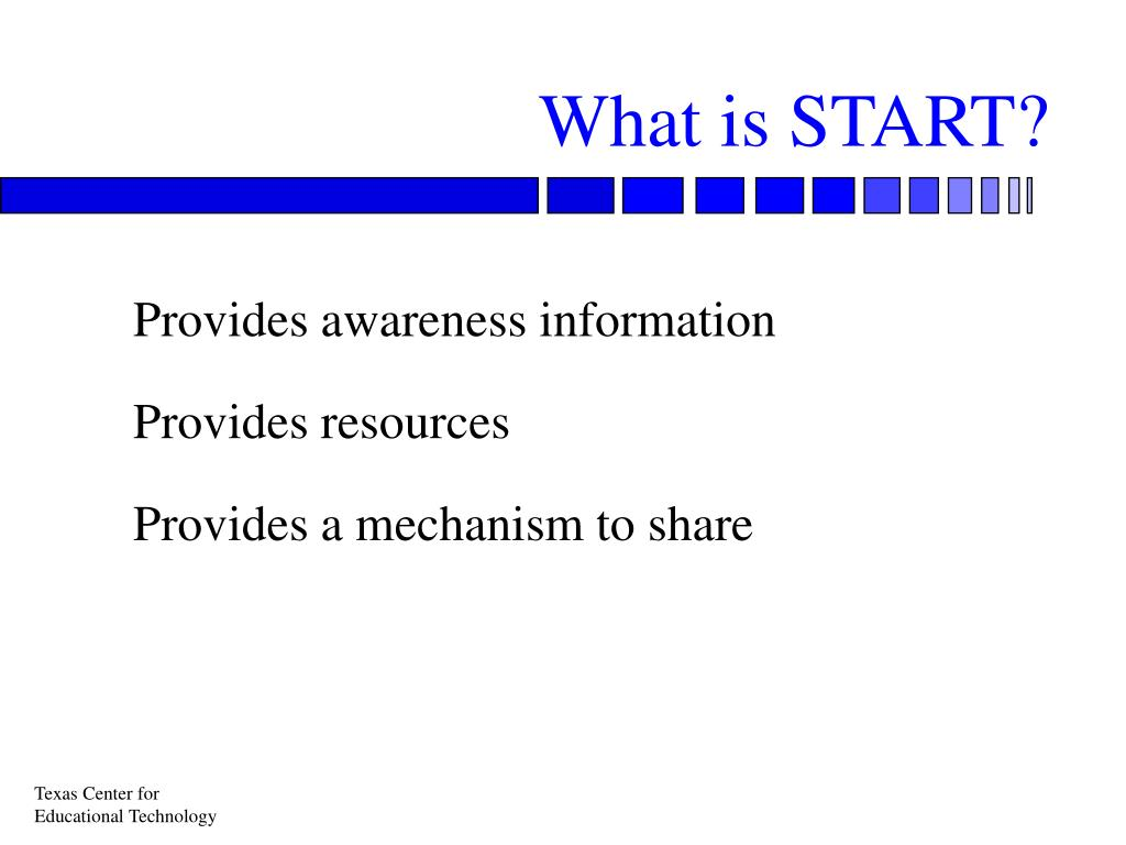 What is START?