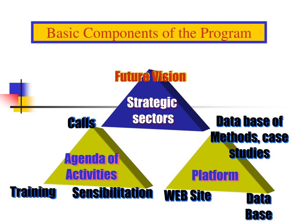 Basic Components of the Program