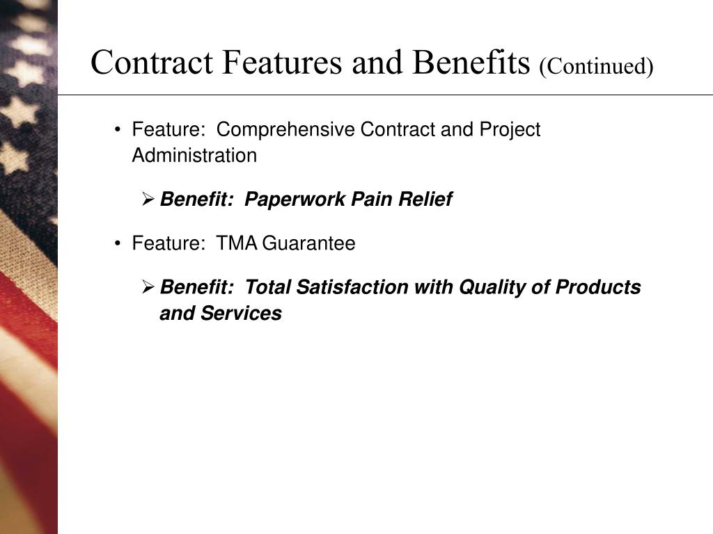 Contract Features and Benefits