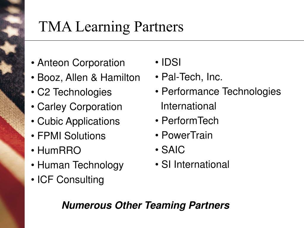 TMA Learning Partners