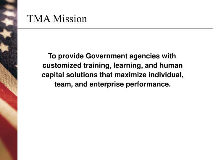 Tma mission