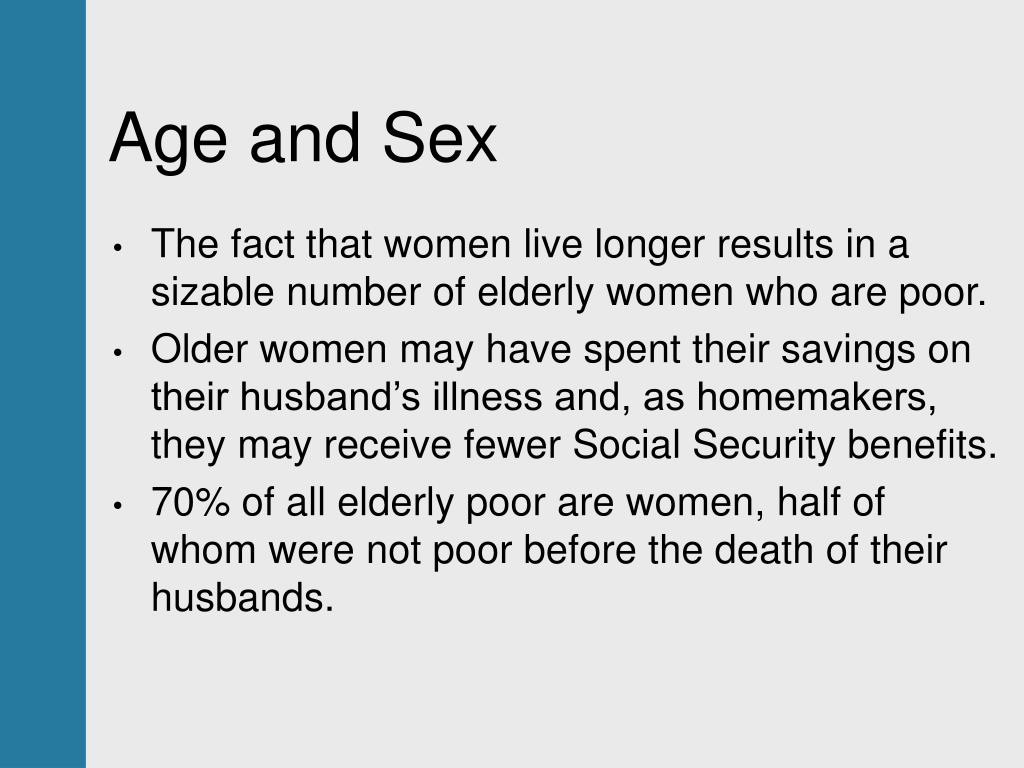 Age and Sex