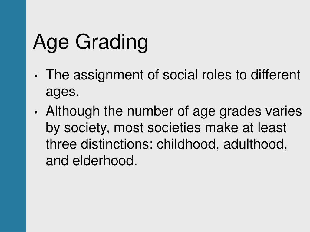 Age Grading