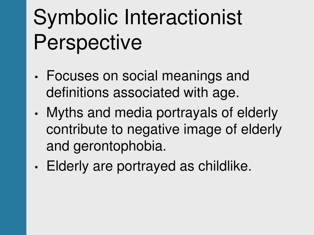 Symbolic Interactionist Perspective