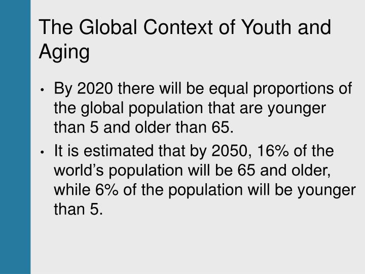 The global context of youth and aging