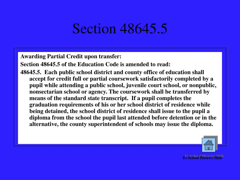 Section 48645.5