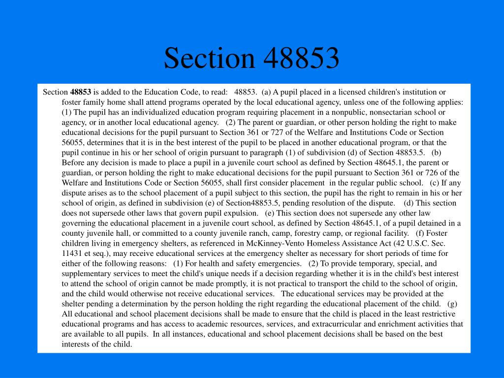 Section 48853